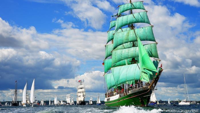 Reisen 2017 - Kieler Woche Segelschiffe (picture-alliance/Arco Images/SPOT)