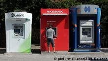 Geldautomaten in der Türkei