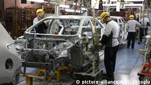 Türkei Sakarya - Toyota Motor Fabrik