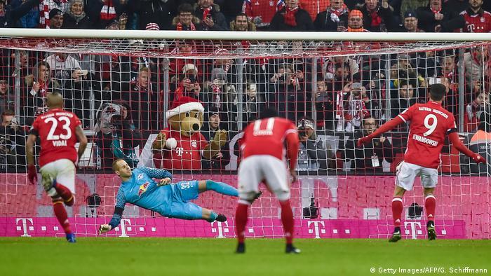 Deutschland Bundesliga Bayern München vs RB Leipzig