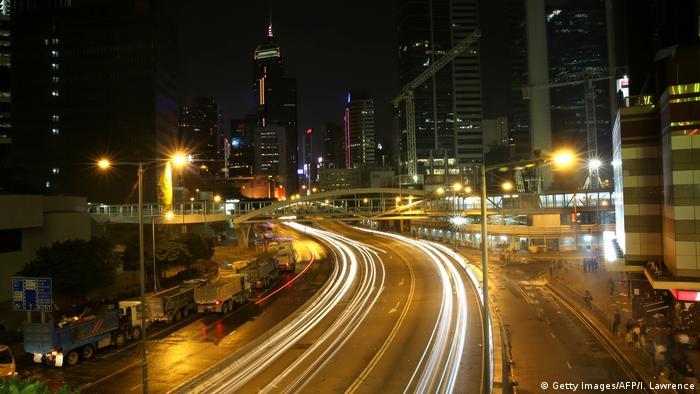 China Straßenverkehr in Hongkong