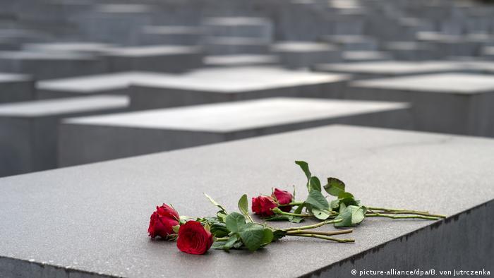 Monumento a la Memoria de las Víctimas del Holocausto, en Berlín.