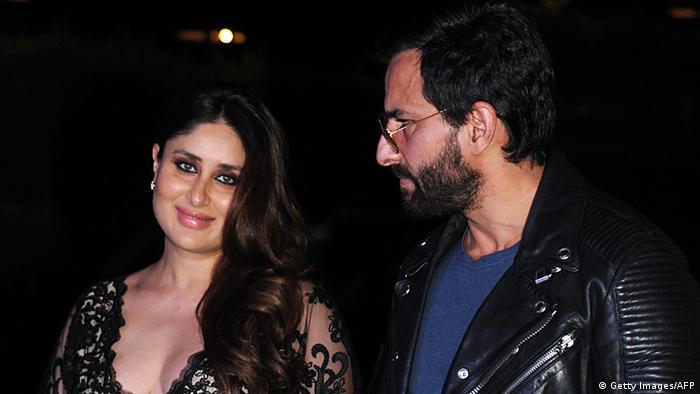 Indien Bollywood Schaupieler Saif Ali Khan und Kareena Kapoor (Getty Images/AFP)