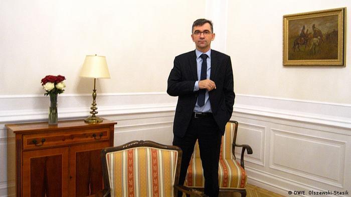 Deutschland Botschafter der Republik Polen in Deutschland Andrzej Przylebski