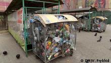 Ukraine Müllprobleme in Lviv