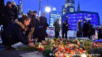 После теракта на рождественском базаре в Берлине в декабре 2016 года