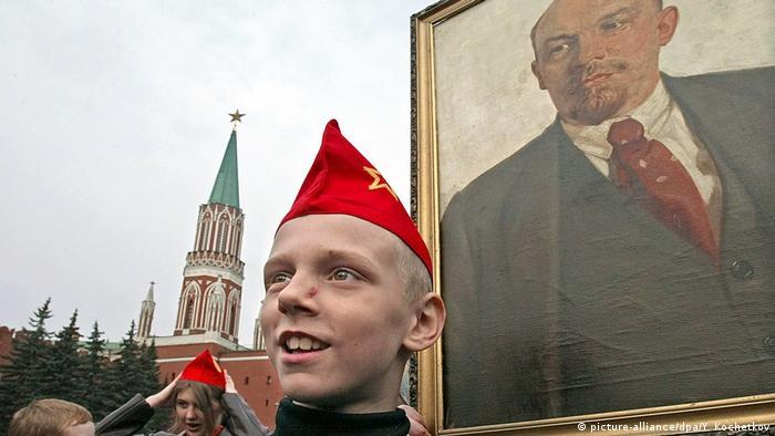 Портрет Ленина на Красной площади, 2004 год