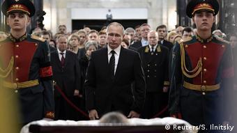 Russland Trauerakt für den getöteten Diplomaten Andrej Karlow in Moskau
