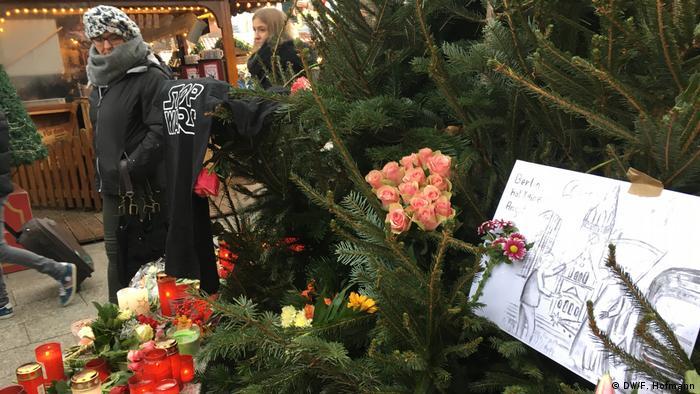 Deutschland Trauer nach Anschlag auf Berliner Weihnachtsmarkt