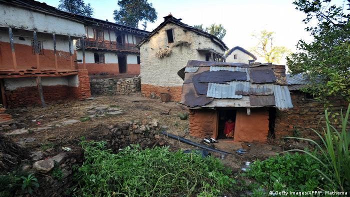 Nepal Chhaupadi-Haus (Getty Images/AFP/P. Mathema)