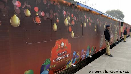 Pakistan Christmas Peace Train (picture-alliance/AA/M. Reza)