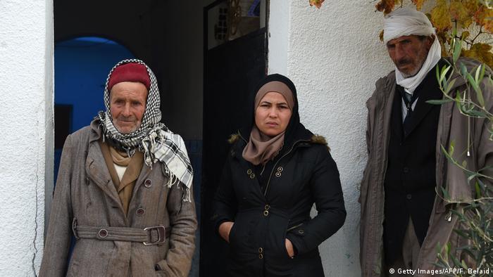 Tunesien Familie von Anis Amri (Getty Images/AFP/F. Belaid)