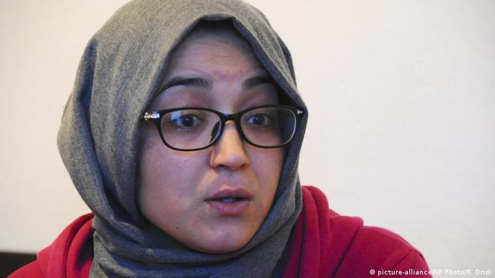 Tunesien Schwester von Anis Amri (picture-alliance/AP Photo/R. Dridi)