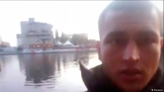 Portraitfoto Anis Amri aus 'selfie' video clip (Reuters)