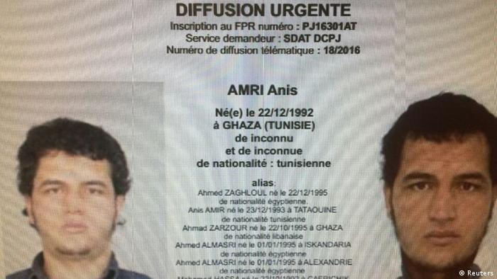 Fahndung nach Anis Amri (Reuters)