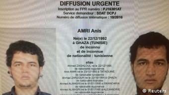 Fahndung nach Anis Amri