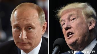 Symbolbild Trump Putin