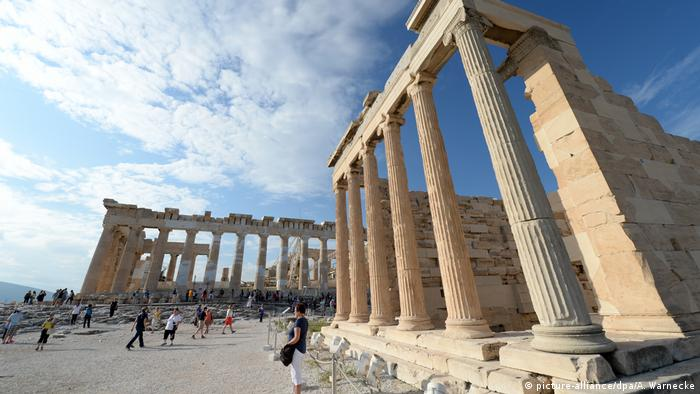 Griechenland Athen Akropolis (picture-alliance/dpa/A. Warnecke)