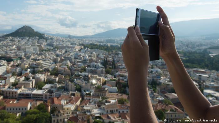 Griechenland Stadtansicht Athen