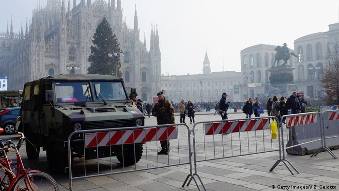 Italien Mailand Piazza Duomo (Getty Images/V.Z. Celotto)