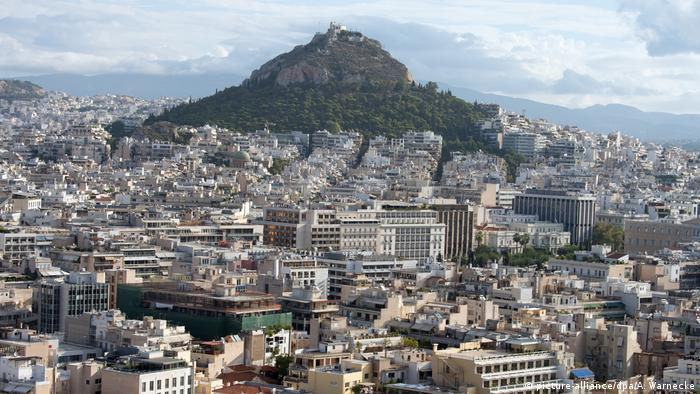 A panorama of Athens