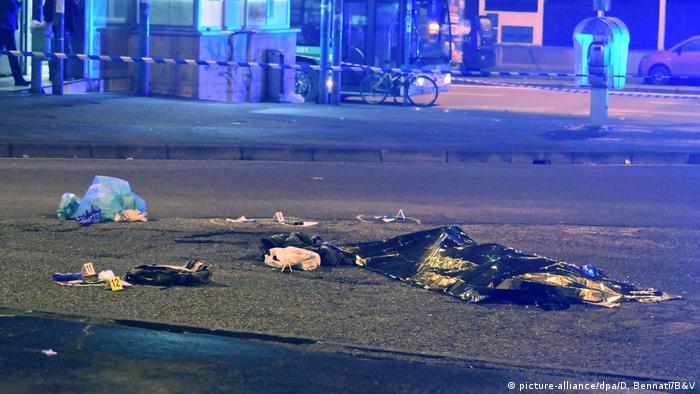 Italien Terrorverdächtiger Anis Amri inMailand erschossen
