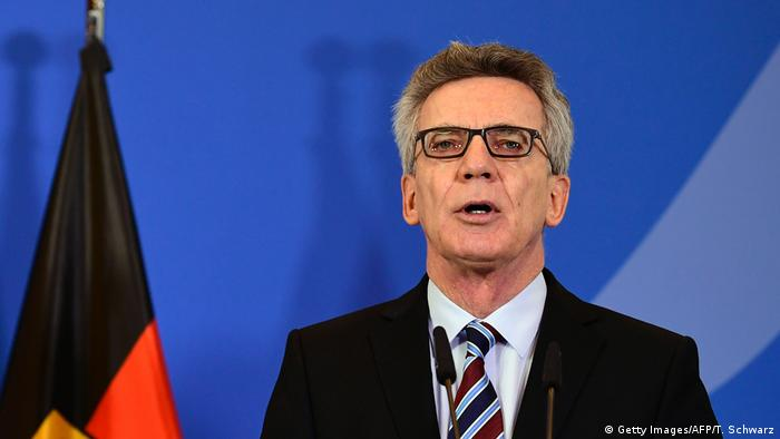 Thomas de Maiziere (Getty Images/AFP/T. Schwarz)