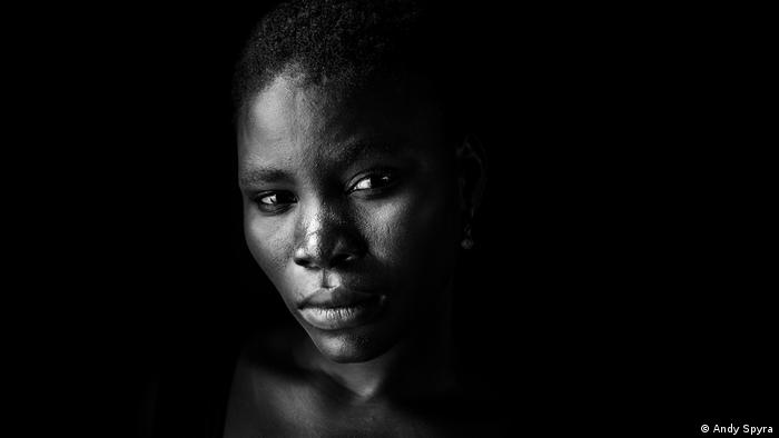 A Christian girl who fled from Boko Haram - Exhibition Conflict (A. Spyra)