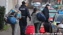 Deutschland Rückführung von Flüchtlingen