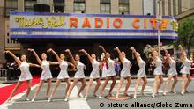 New York City Tanztruppe Radio City Rockettes