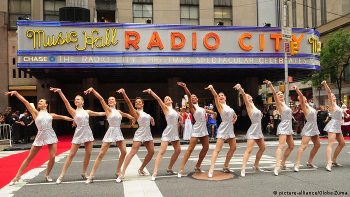 New York City Tanztruppe Radio City Rockettes (picture-alliance/Globe-Zuma)