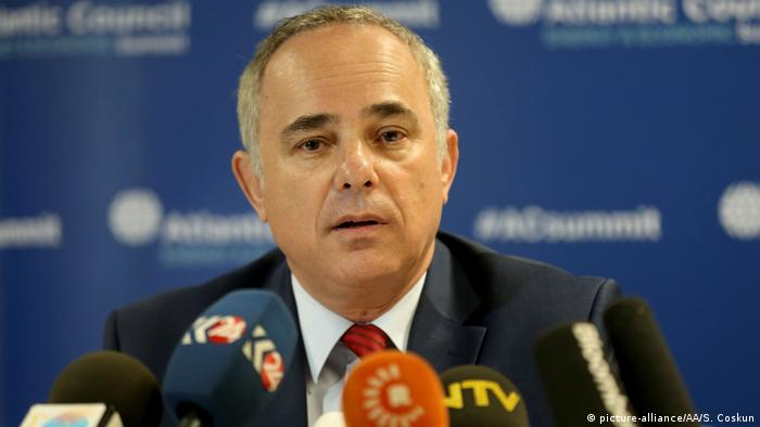 Minister Israel Juval Steinitz in Istanbul (picture-alliance/AA/S. Coskun)