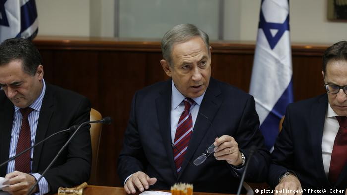 Israel Premierminister Benjamin Netanjahu (picture-alliance/AP Photo/A. Cohen)