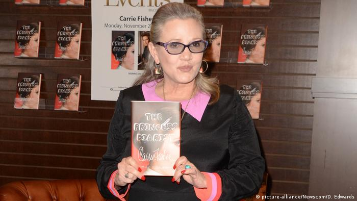 Los Angeles Autorin Schauspielerin Carrie Fisher (picture-alliance/Newscom/D. Edwards)