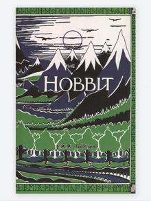 J.R.R. Tolkien Buchcover The Hobbit