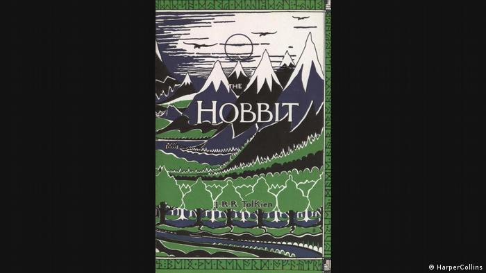 J.R.R. Tolkien Book cover of The Hobbit (HarperCollins)