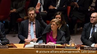 UN Sicherheitsrat Resolution zu Siedlungspolitik Israels