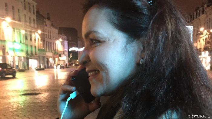 Fatima Abbach Belgien Brüssel Molenbeek Marktplatz