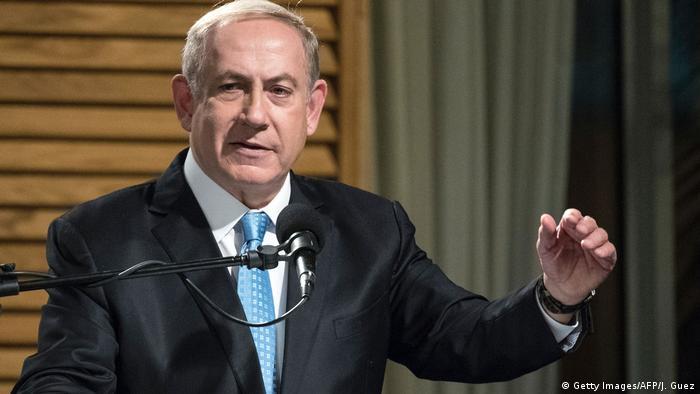 Israel Premierminister Netanyahu - Chanukka (Getty Images/AFP/J. Guez)