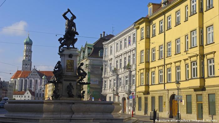 Augsburg Stadtansicht