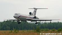 Flugzeug TU 154 - Symbolfoto