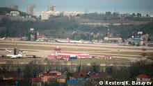 Russland Flughafen Sotschi