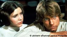 Filmstill - Star Wars mit Carrie Fisher (picture-alliance/Captital Pictures)