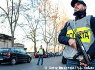 Итальянский полицейский (фото из архива)
