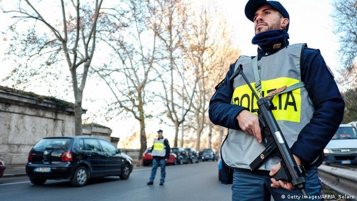 Italien Sicherheit in Rom