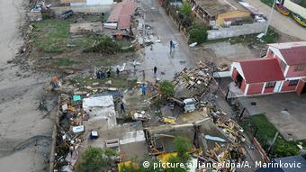Chile Zerstörung durch Erdbeben in Los Vilos Der Klimawandel schreckt auch Versicherer