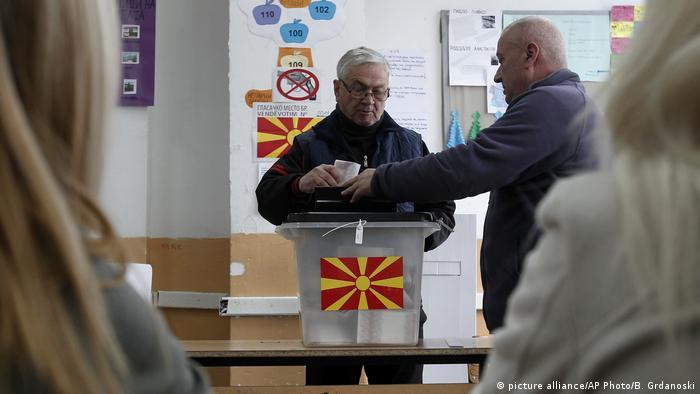 Mazedonien Nachwahl in Tearce
