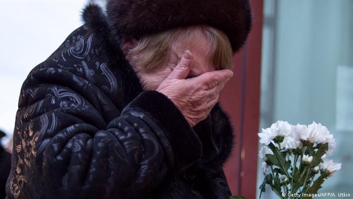 Russland Flugzeugabsturz über dem Schwarzen Meer bei Sotschi (Getty Images/AFP/A. Utkin)