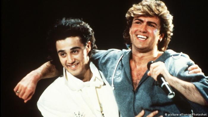 جرج مایکل (راست) و اندرو ریجلی
