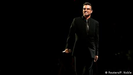 Sänger George Michael (Reuters/P. Noble)